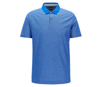 Regular-Fit Poloshirt aus Baumwolle