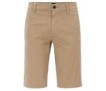 Chino-Shorts aus Stretch-Baumwolle