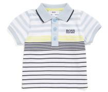 Baby-Poloshirt aus Baumwolle im gestreiften Dessin