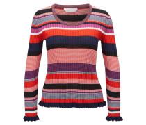 Gestreifter Pullover aus Baumwoll-Mix