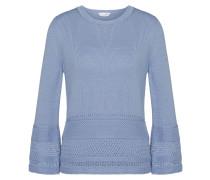 Pullover aus Baumwolle mit Loch-Muster