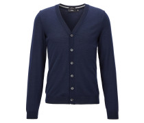 Slim-Fit Cardigan aus Merinowolle