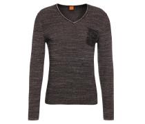 Slim-Fit Pullover aus Baumwolle