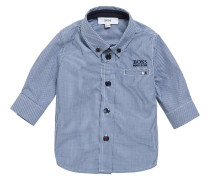 Kids-Hemd aus Baumwolle im Karo-Dessin