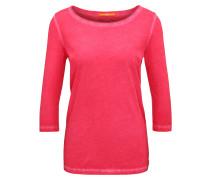 Slim-Fit T-Shirt aus stückgefärbter Baumwolle