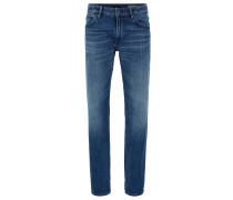 Regular-Fit Jeans aus Red Cast Denim