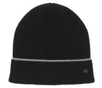 Mütze aus Baumwoll-Mix mit reflektierendem Streifen