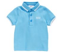 Baby-Poloshirt aus Baumwolle mit Kontrast-Details