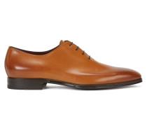 Oxford-Schuhe aus poliertem Leder