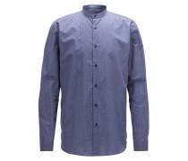 Relaxed-Fit Hemd aus Baumwolle mit feinem geometrischem Print