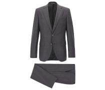 Regular-Fit Anzug aus Schurwolle mit AMF-Nähten