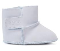 Baby-Stiefel aus Leder mit Klettverschluss