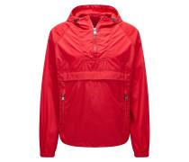 Leichte Oversize-Fit-Jacke aus wasserabweisendem Material-Mix