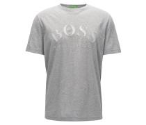 Slim-Fit T-Shirt aus weicher Baumwolle mit Logo