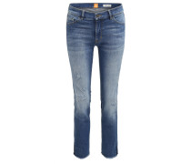 Slim-Fit Jeans aus komfortablem Stretch-Denim