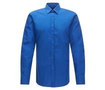 Extra Slim-Fit Hemd aus Baumwolle mit Kentkragen