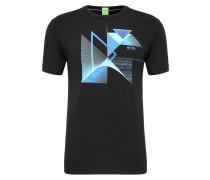 Regular-Fit T-Shirt mit Print aus Single Jersey
