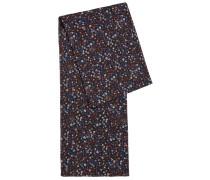Schal aus Baumwoll-Mix mit Blumen-Print