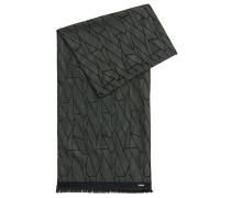 Gemusterter Schal aus Seide
