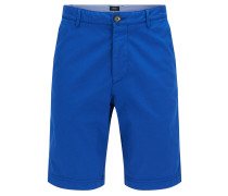Regular-Fit Shorts aus Stretch-Baumwolle