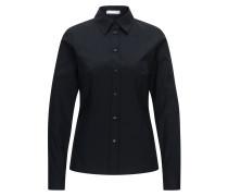 Slim-Fit-Bluse aus elastischer Baumwolle