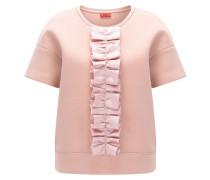 Oversize-Fit T-Shirt mit Rüschenband