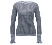 Regular-Fit Pullover aus elastischem Material-Mix