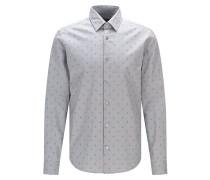Regular-Fit Oxford-Hemd mit abstraktem Print