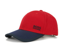 Baseball Cap aus Baumwolle im Colour-Block-Design