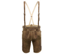 Traditionelle Relaxed-Fit Lederhose