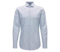 Dezent gemustertes Slim-Fit-Hemd aus Baumwolle