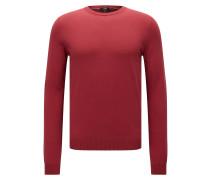 Slim-Fit Pullover aus edler Baumwolle