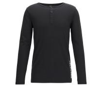 Langarm-Shirt aus Single Jersey