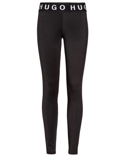 Slim-Fit Leggings aus Stretch-Gewebe