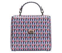 Gemusterte BOSS Bespoke Handtasche aus Leder