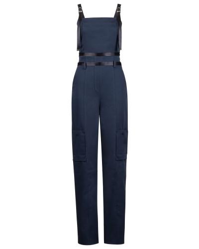 Fashion Show Jumpsuit aus elastischer Baumwolle