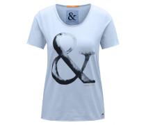 Slim-Fit T-Shirt aus Baumwolle mit Print