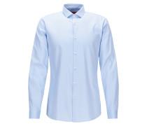 Extra slim-Fit Hemd aus Vollzwirn-Baumwolle