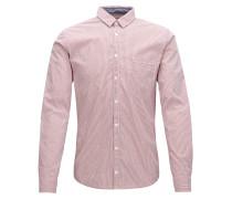 Extra Slim-Fit Hemd aus elastischem Baumwoll-Mix mit Streifen