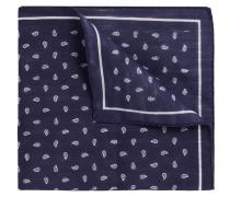 Einstecktuch mit Paisley-Muster aus Leinen-Mix mit Baumwolle