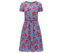 Regular-Fit Seiden-Kleid