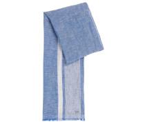 Melierter Schal aus Leinen