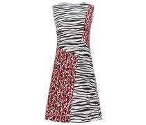 Regular-Fit Kleid mit unterschiedlichen Prints