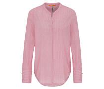 Regular-Fit Bluse aus Baumwolle mit geometrischem Muster