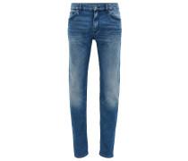 Regular-Fit Jeans aus Stretch-Denim in Used-Optik