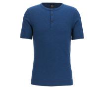Slim-Fit T-Shirt aus melierter Baumwolle
