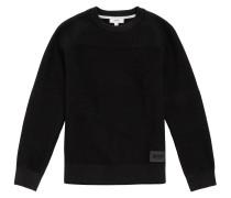 Kids-Pullover aus Baumwolle mit Strukturmuster