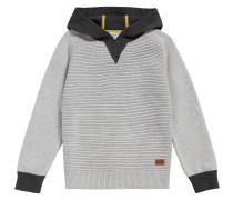 Kids-Pullover aus Baumwolle mit Kapuze