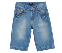 Kids-Jeansshorts aus Baumwolle