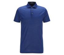 Slim-Fit Poloshirt aus italienischer Baumwolle